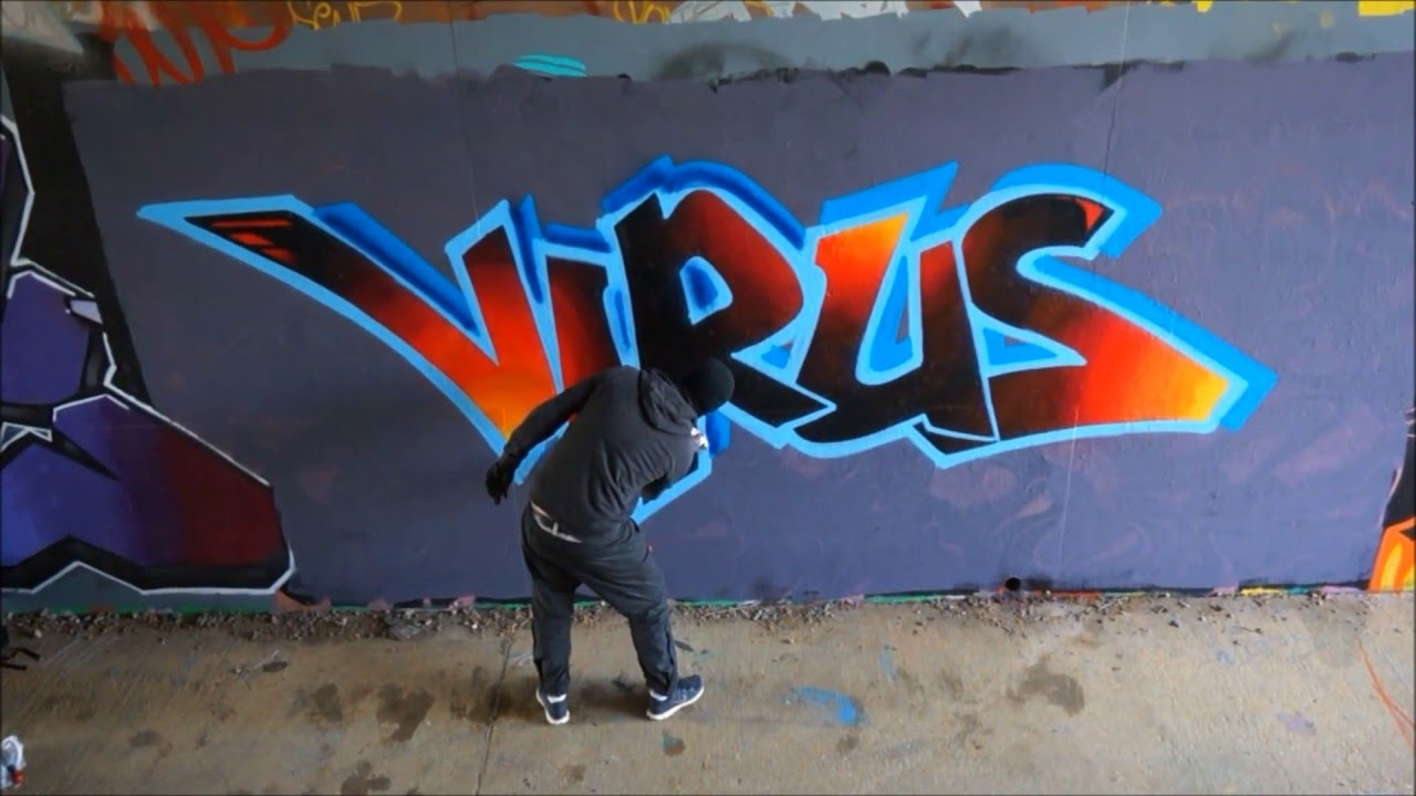 VIRUS GRAFFITI ART